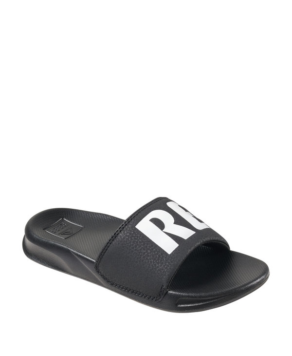 Reef Youth One Slide Black/White