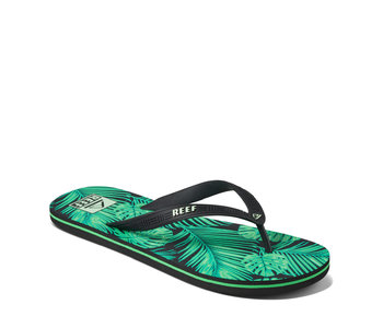 Reef Men's Seaside Flip Green Palm