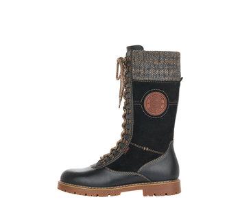 Remonte Sarolta D9375-01 Black with Cleats