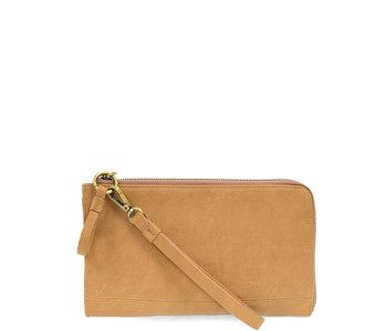 Joy Susan Karina Wristlet/Wallet Wheat