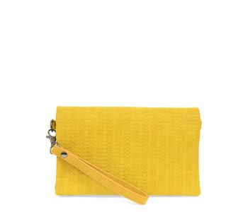 Joy Susan Kate Crossbody Woven Handbag Straw