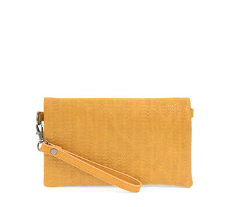 Joy Susan Kate Crossbody Woven Handbag Tawny Brown