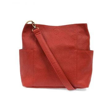 Joy Susan Kayleigh Bucket Bag Red