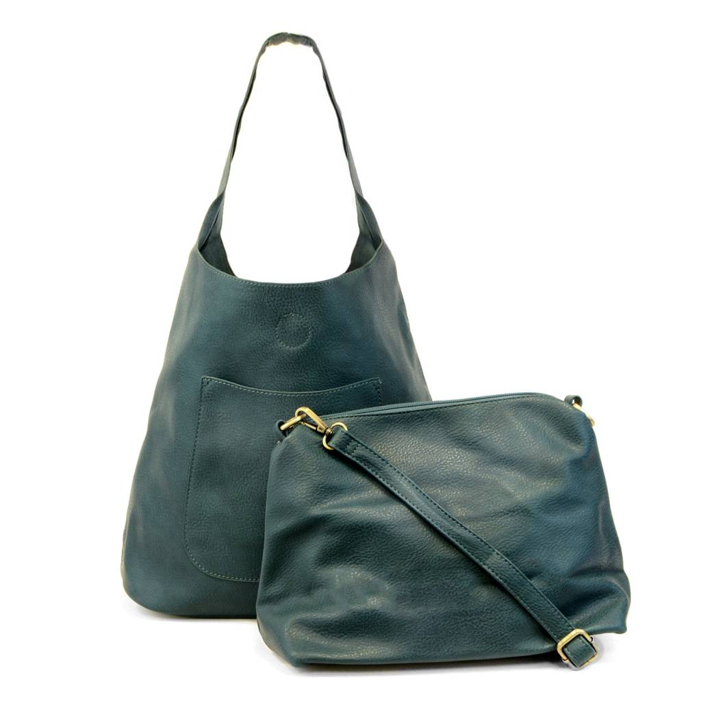 Joy Susan Joy Susan Molly Slouchy Hobo Handbag Dark Teal