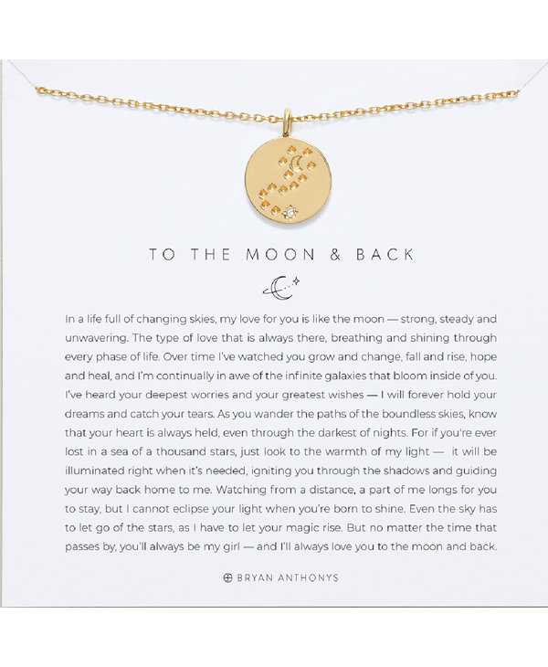Bryan Anthony To the Moon and Back Necklace