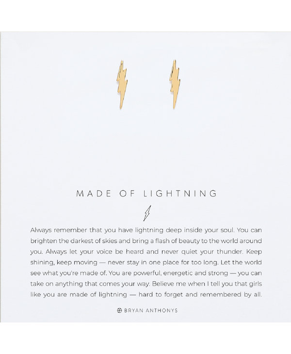 Bryan Anthony Made Of Lightning Earrings