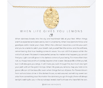 Bryan Anthonys When Life Gives You Lemons Necklace