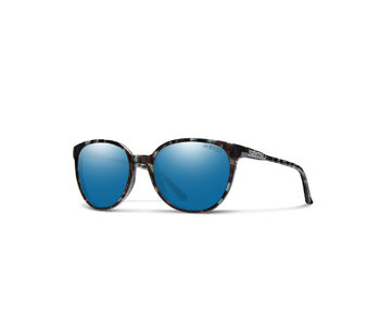 Smith Cheetah Sky Tortoise / Blue Mirror Lens
