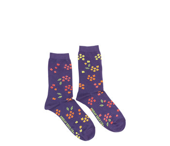 Friday Sock Co. Women's  Ombre Floral  Crew W 5 - 10 (M - 4 - 8)