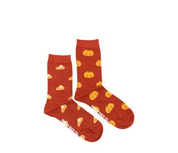 Friday Sock Co. Women's Pumpkin Pie Crew W 5 - 10 (M - 4 - 8)