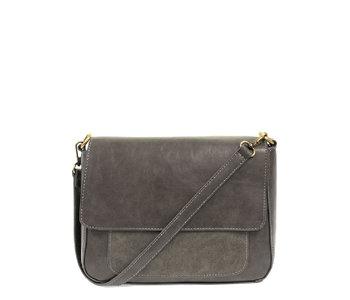 Joy Susan Lexie Shoulder Bag Grey
