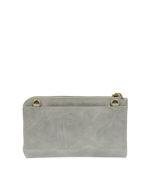 Joy Susan Karina Wristlet/Wallet Dusty Blue