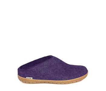 Glerups Slip On Honey Rubber Purple