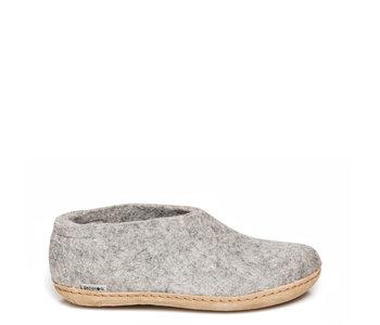 Glerups Unisex Shoe Leather Grey