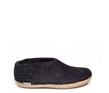 Glerups Unisex Shoe Leather Charcoal