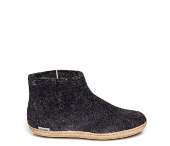 Glerups Unisex Boot Leather Charcoal
