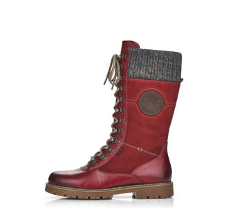 Remonte Sarolta D9375-35 Red with Cleats