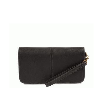 Joy Susan Mia Multi Pocket Crossbody Black