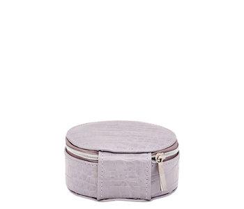 Louenhide Sisco Jewelry Case Croc Lilac