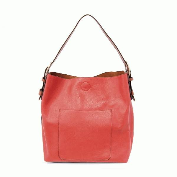 Joy Susan Joy Susan Classic Hobo Handbag Red