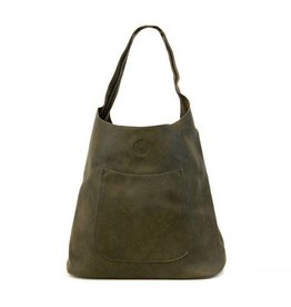 Joy Susan Molly Slouchy Hobo Handbag Olive