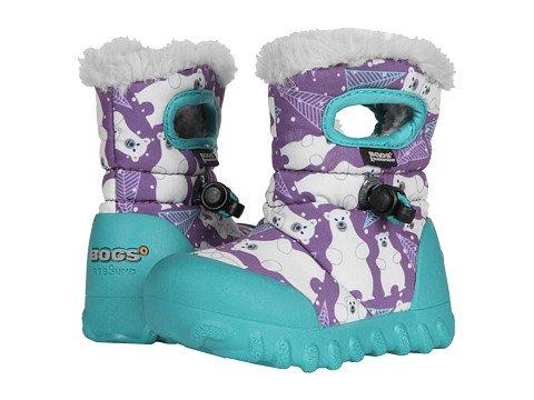 Bogs Child/ Youth BMoc Bears Purple