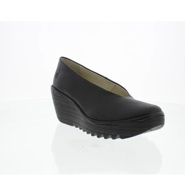 Fly London Yaz Wedge Black