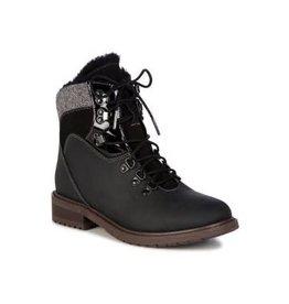 Emu Primrose Waterproof Leather Black