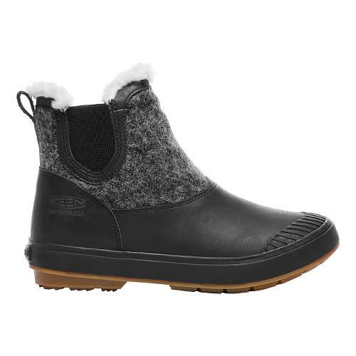 Keen Keen Women's Elsa Chelsea WP Black Wool