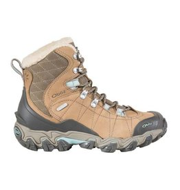 Oboz Womens Bridger Insulated Bdry Tan