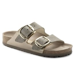 Birkenstock 1009935 Women's Arizona Big Buckle Blue Leather