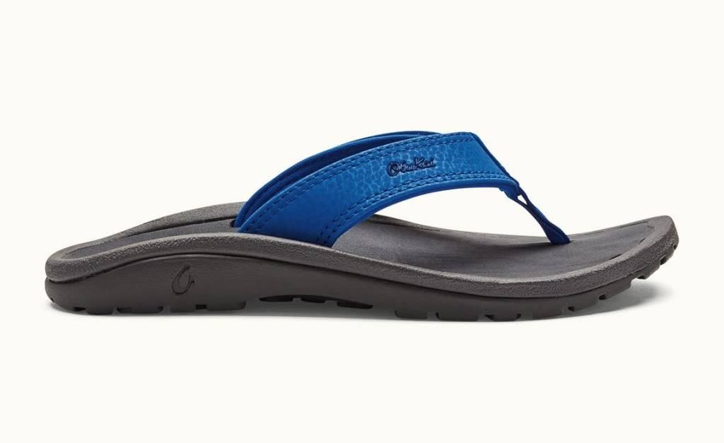 OluKai Olukai Boys Ohana Flip Blue