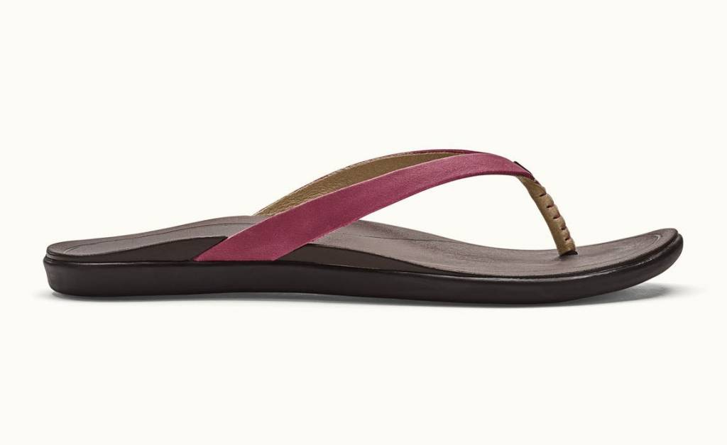 OluKai Olukai Womens HO'OPIO Leather Flip Flop