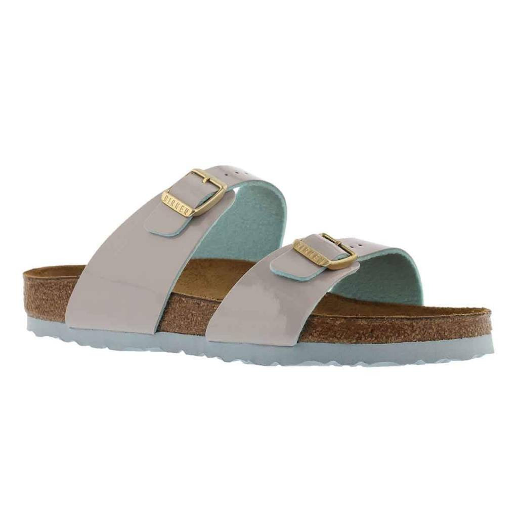 Birkenstock Birkenstock Sydney 1008117 Two-Tne-Light-Grey BF