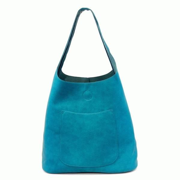 Joy Susan Joy Susan Molly Slouchy Hobo Handbag Dark Turquoise