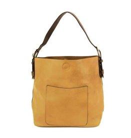 Joy Susan Molly Classic Hobo Handbag Mustard