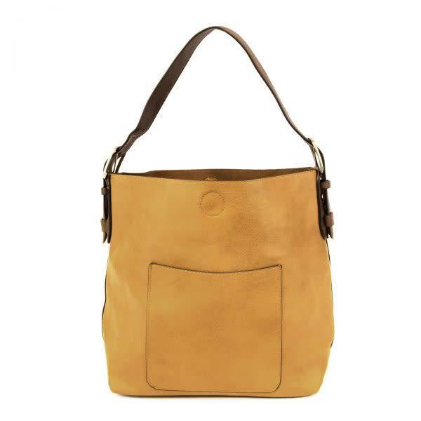 Joy Susan Joy Susan Molly Classic Hobo Handbag Mustard
