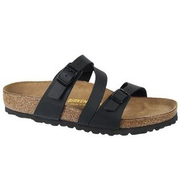 Birkenstock Womens Salina Black Narrow Fit