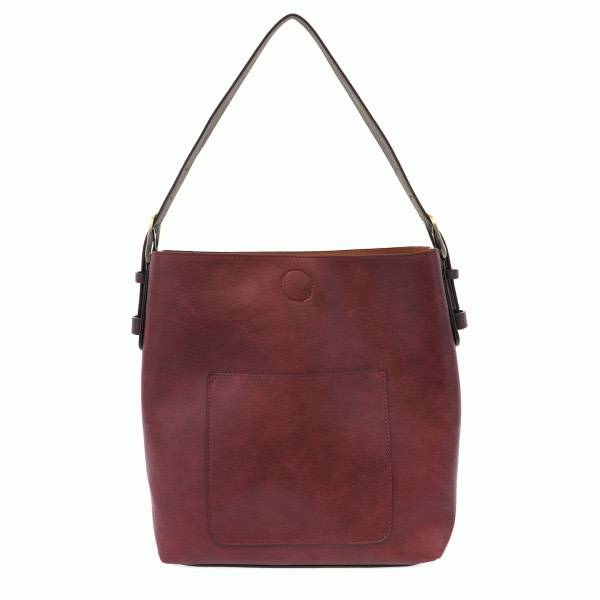 Joy Susan Joy Susan Classic Hobo Handbag Merlot