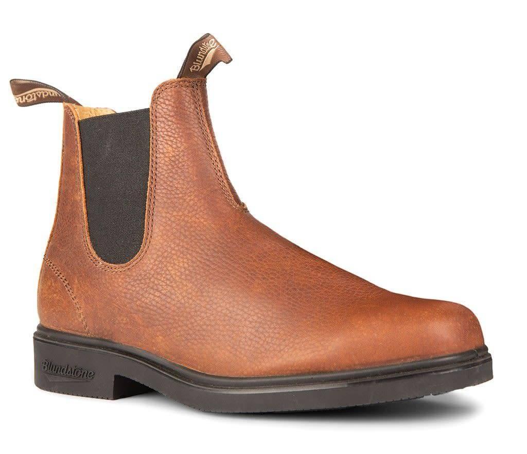 Blundstone Blundstone 1313 Unisex Chisel Toe Pebbled Brown