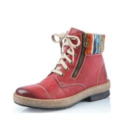 Rieker Eagle Boot Z6721-35 Red