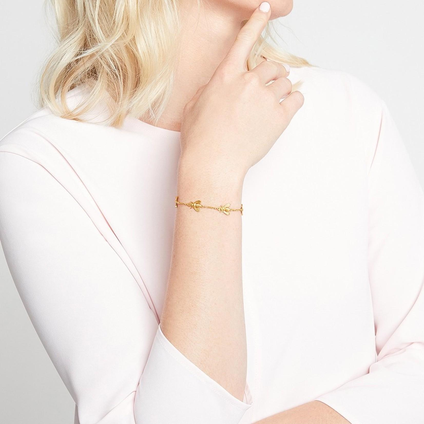 Julie Vos Bee Delicate Bracelet