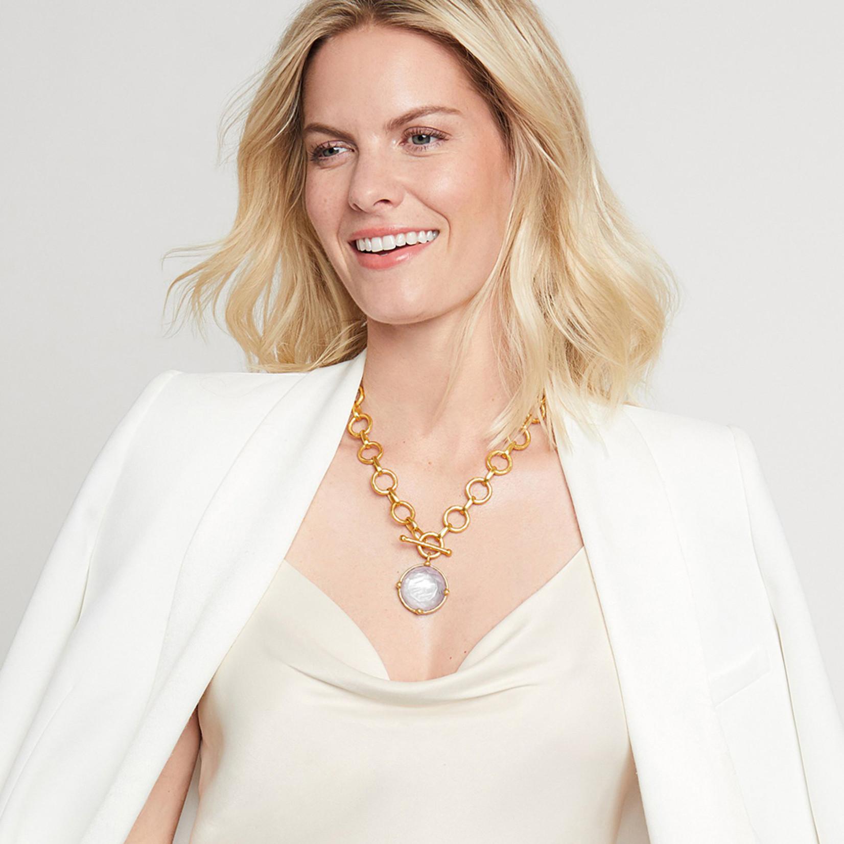 Julie Vos Honeybee Statement Necklace