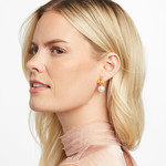 Julie Vos Bee Pearl Drop Earring