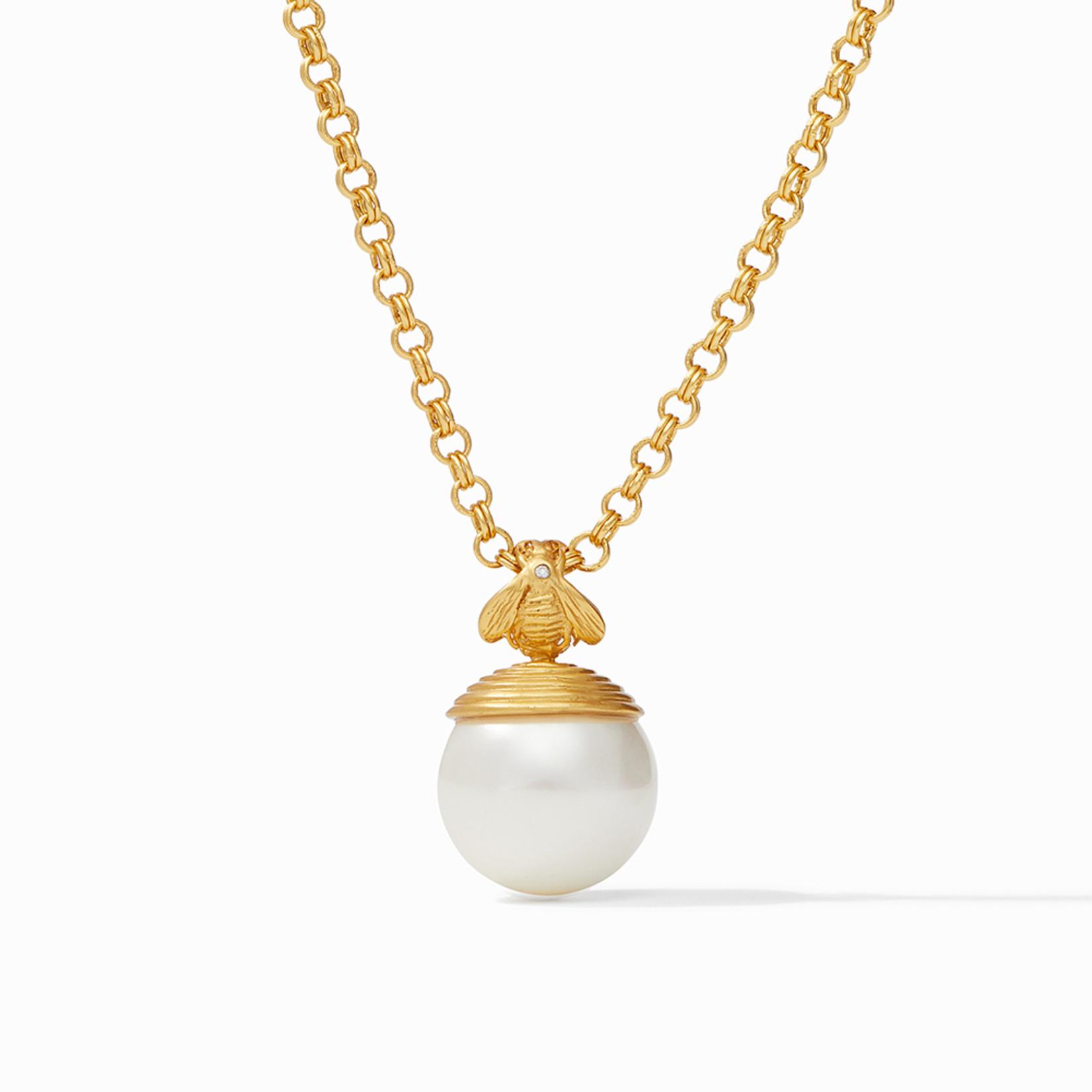 Julie Vos Bee Pearl Pendant