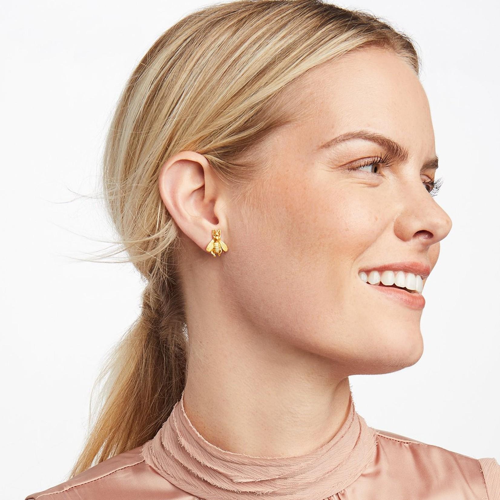Julie Vos Julie Vos Bee Stud Earrings