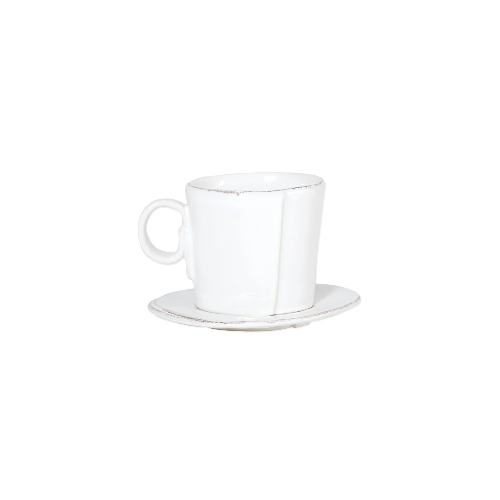 Vietri Lastra Espresso Cup & Saucer