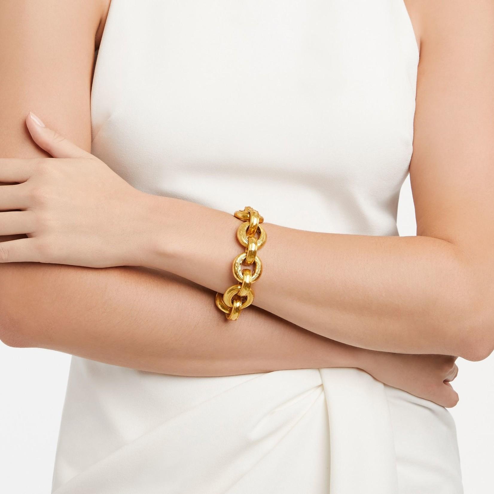 Casis Demi Link Bracelet Gold
