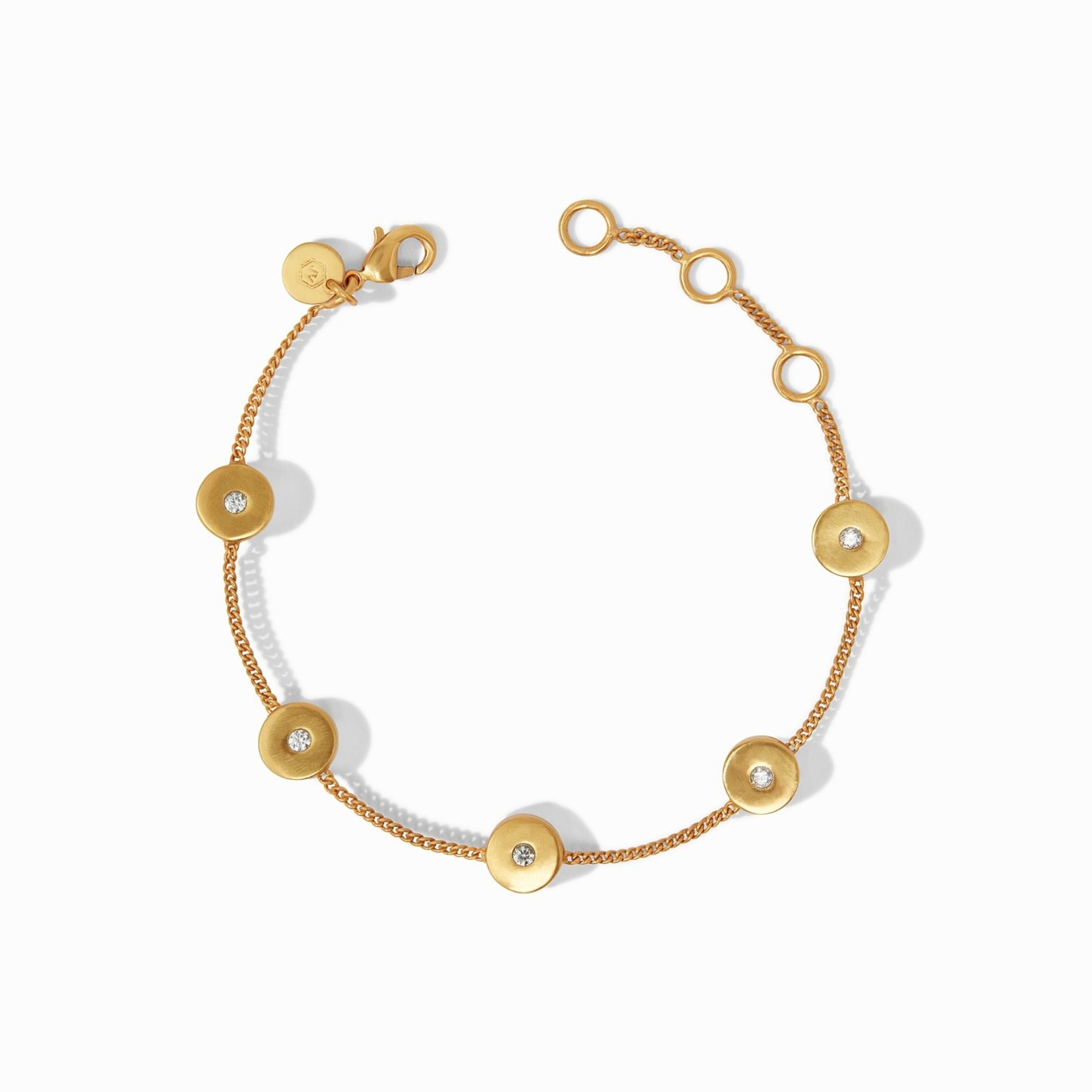 Julie Vos Poppy Delicate Bracelet CZ