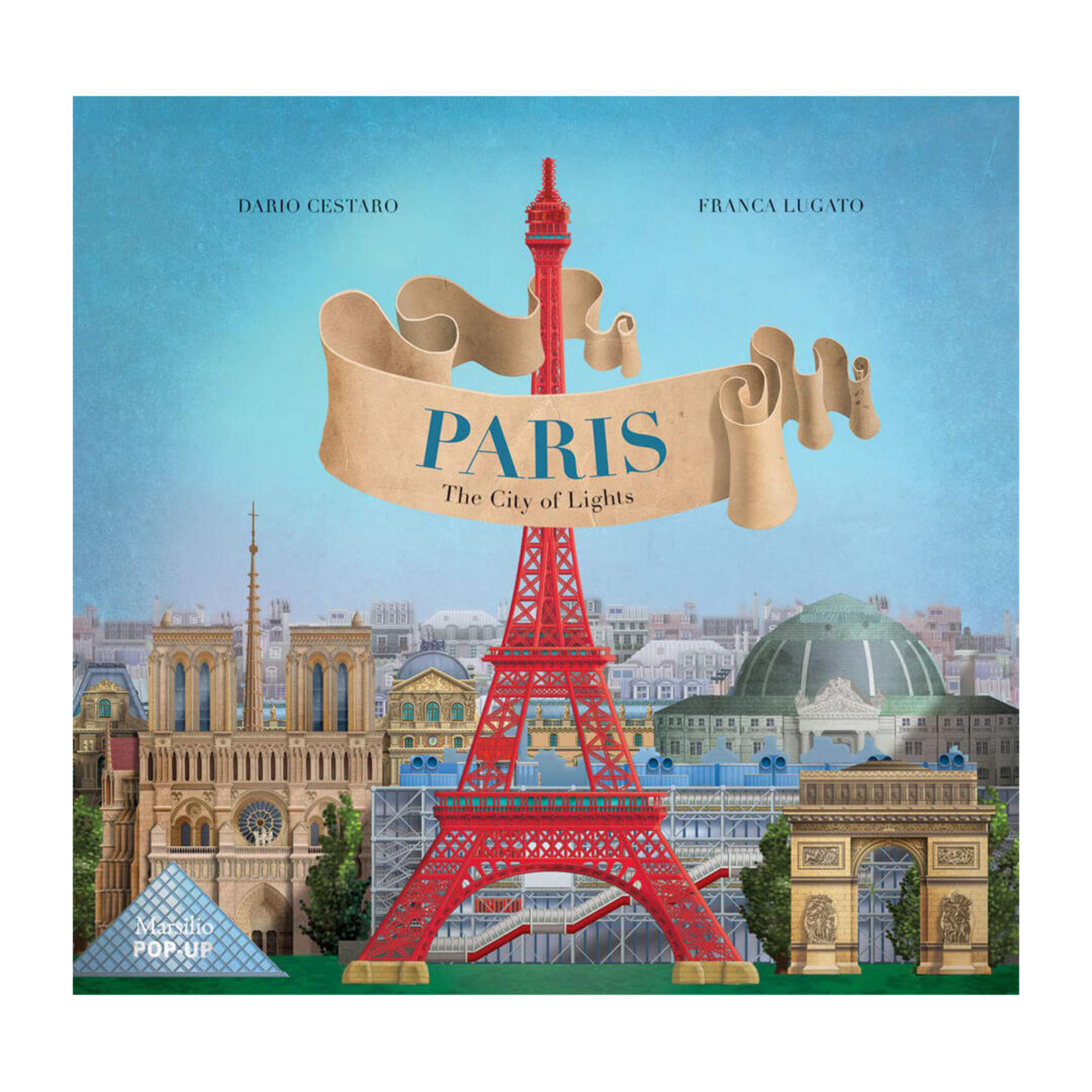 Paris: The City of Lights — Pop-up Book